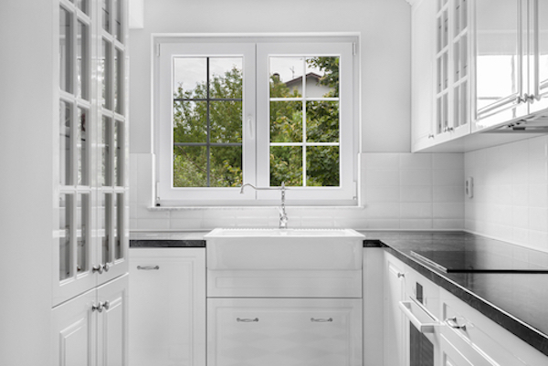 Kitchen Window Ideas Blinds Vs Curtains Property Price